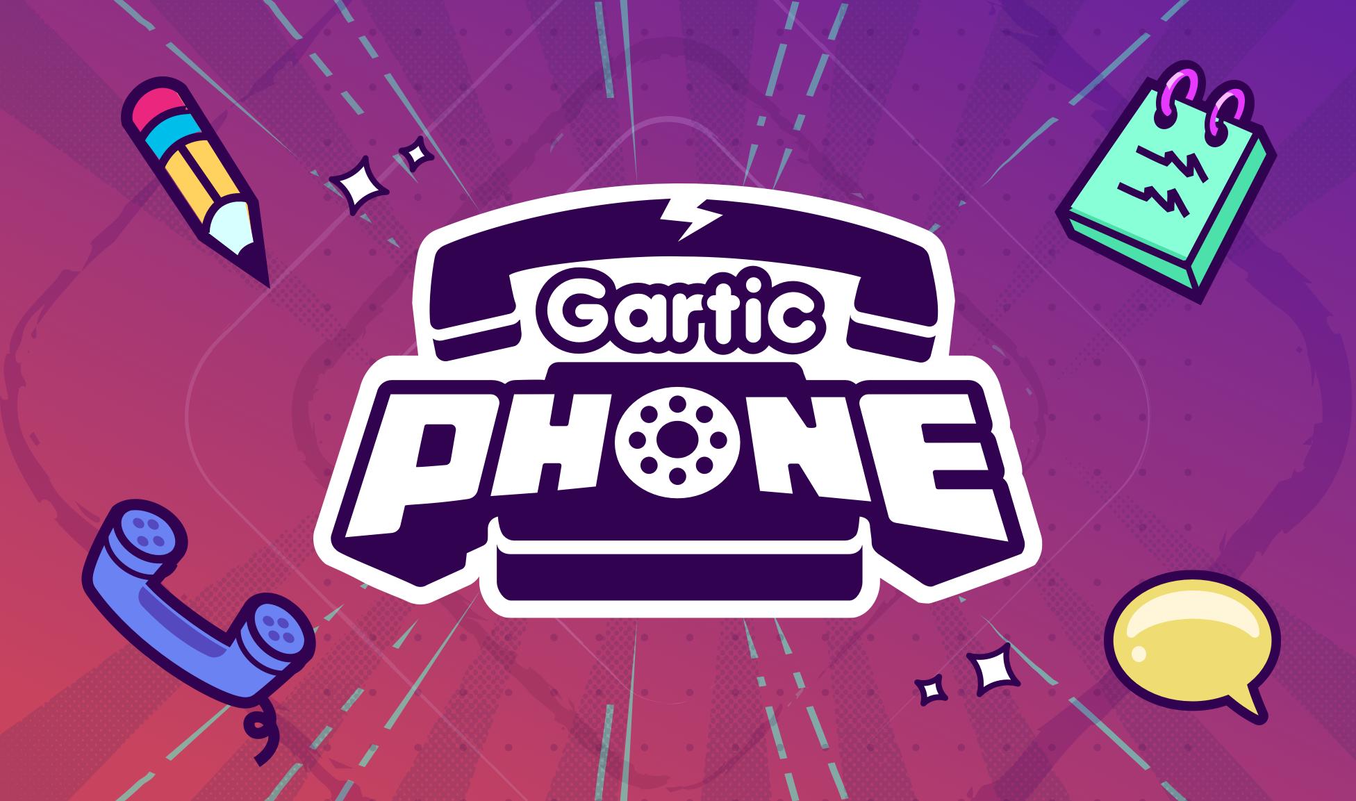 Gartic Phone - The Telephone Game